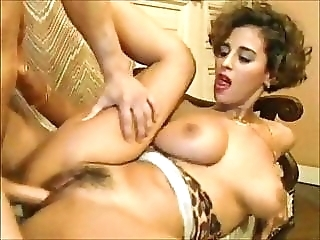 Hot young girl Judith fucked by a big hard cock