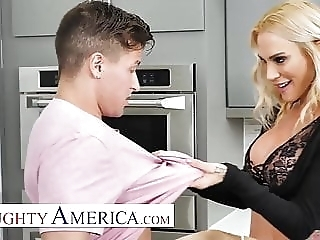 Naughty America - Sarah Jessie is in need of cock