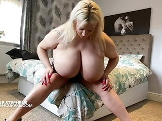 British pornstar Simone Stephens bigger tits than ever