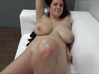 MILF with Big Tits on Casting after WORK